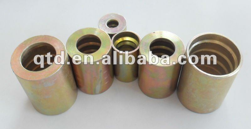 China oem custom-made brass hose ferrules