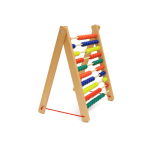 Best selling nursery school educational math toys 10 Row Abacus Frame