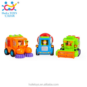 Huile engineering toys educational kids toy cars for kids 386