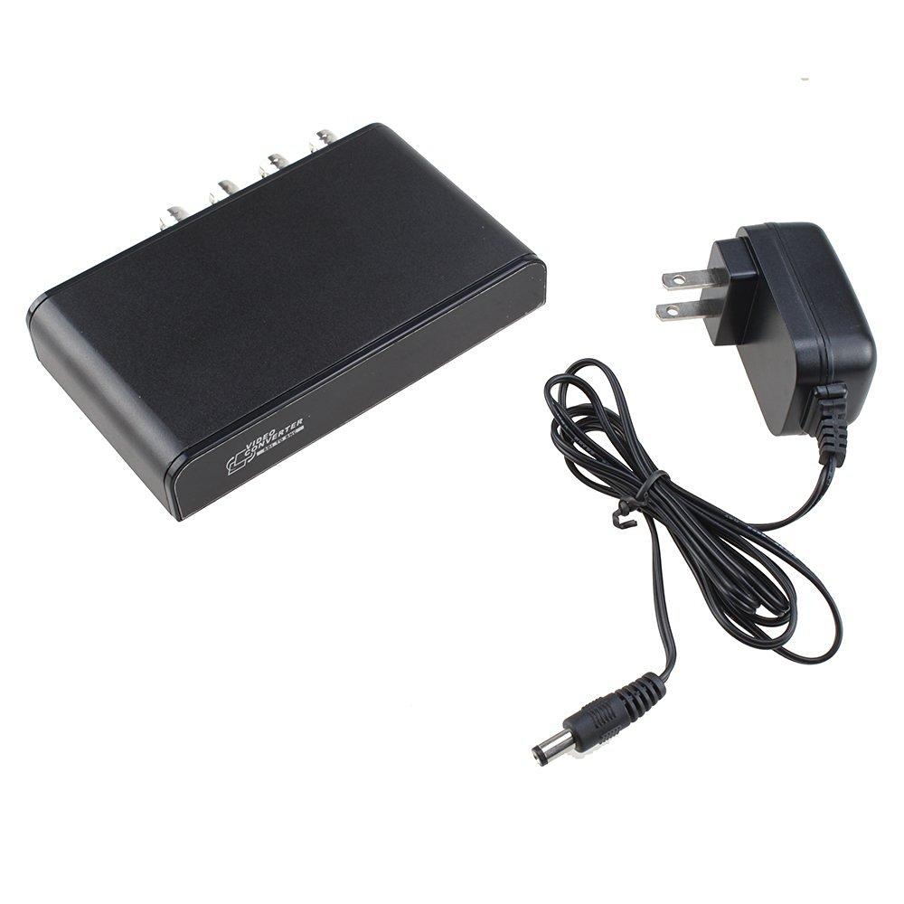 AGPtek SDI to BNC, SDI Video Converter Switcher Adapter Supporting SD-SDI HD-SDI 3G-SDI, CVBS output signal: PAL, NTSC.