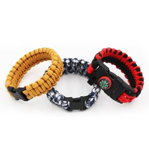 Where Can You Buy High Quality Survival Rescue Bracelet For Camping Manufacturer