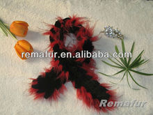Various Color 100% Knitted Rex Rabbit Fur Scarf