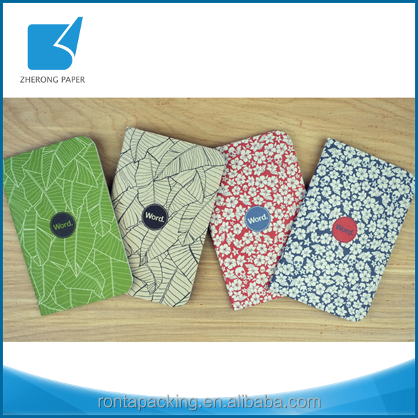 China online shopping coated paper blank notebook