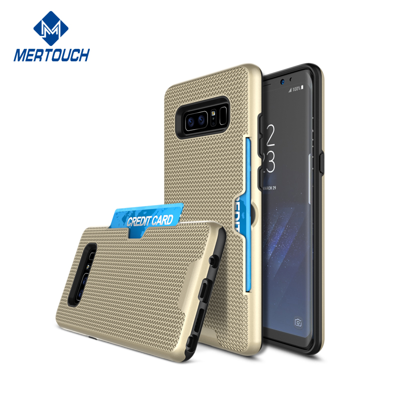 For Samsung 2017 Card Storage Shockproof Armour Note 8 phone case