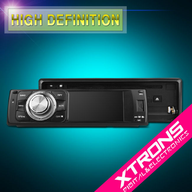 "3"" 1Din car auido with digital touch screen bluetooth RDS"