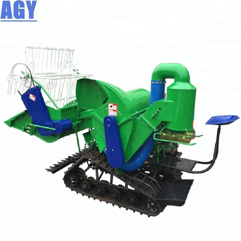 AGY diesel engine small combine rice harvester philippines