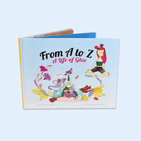 Kids story book beauty hardcover children reading book and book printing service