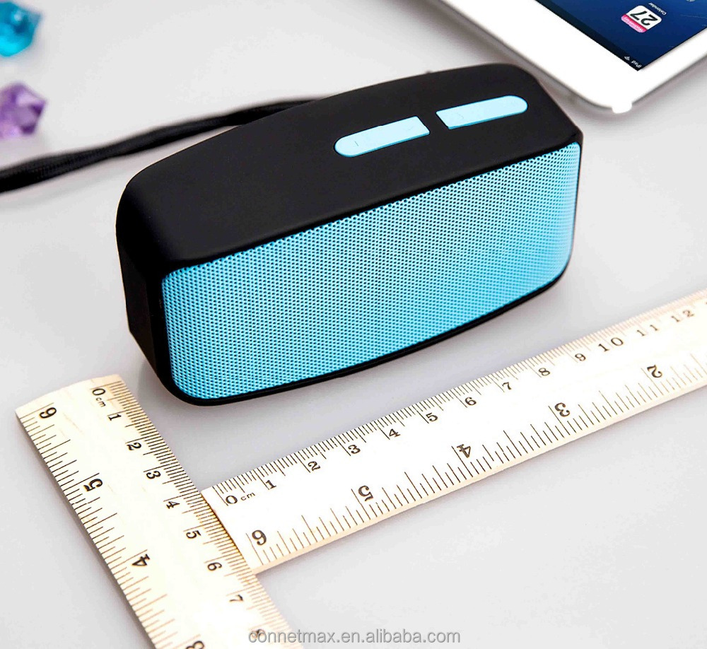 <strong>Mini</strong> Wireless BT V2.1 X3 Portable Speaker with FM Radio USB Input Supports Loudspeaker BT FM TF Card Music Playing