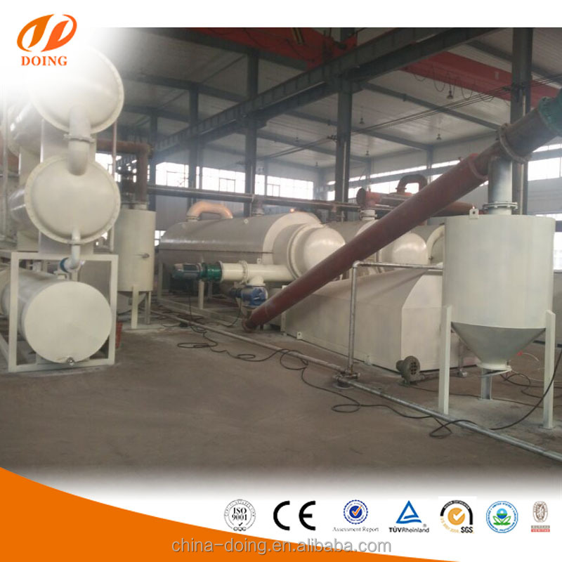 Facebook price of tyre pyrolysis oil continuous waste tyre recycling machine
