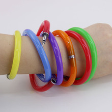 Flexible Cute Soft Plastic Bangle Bracelet Ballpoint Pens