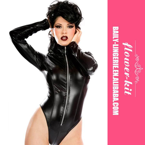 369f07ac67 Long Sleeve Latex Catsuit