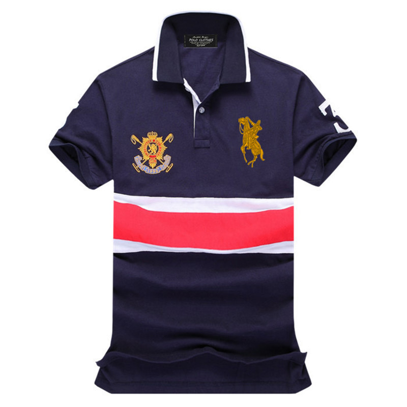 7b6073547c7 Get Quotations · 2015 Polo neck Shirt Men Desigual Camiseta solid Men s  Sports Jerseys Golf Polo shirts Cotton Short