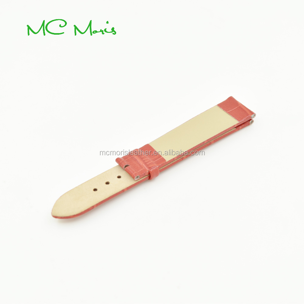 16 mm split leather leather watch strap packaging competitive