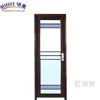 aluminum frame glass toilet door interior /glass door interior