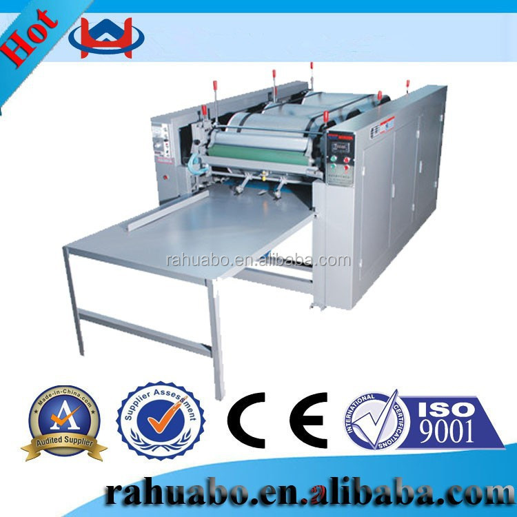 Manual pictures printing non woven shopping bag,pp woven sack printing machines,multicolor printing machine for non woven bags