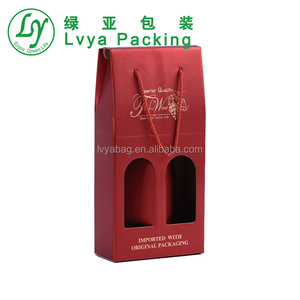 cool wine cardboard box