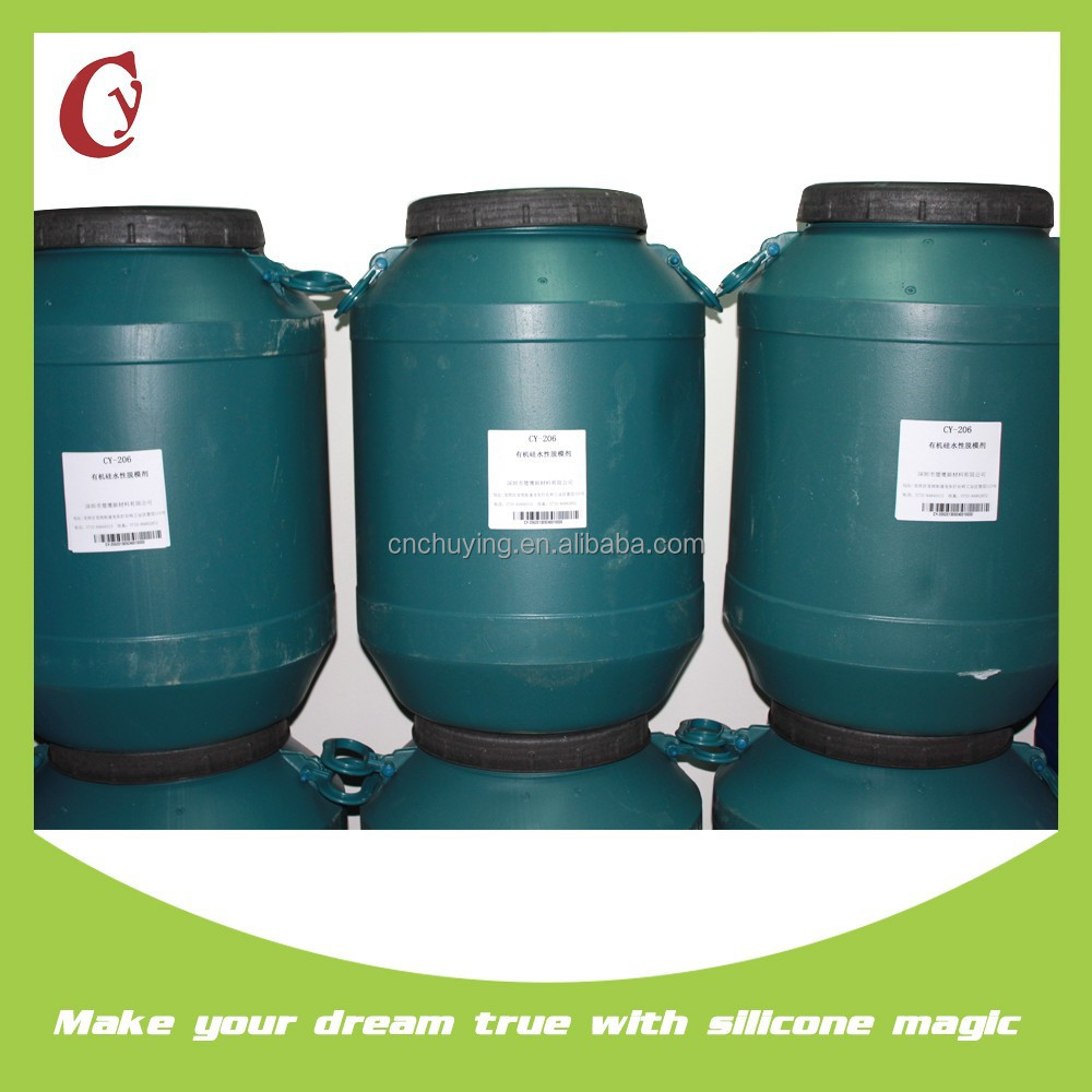 Have excellent film forming heat resistance oily release agent