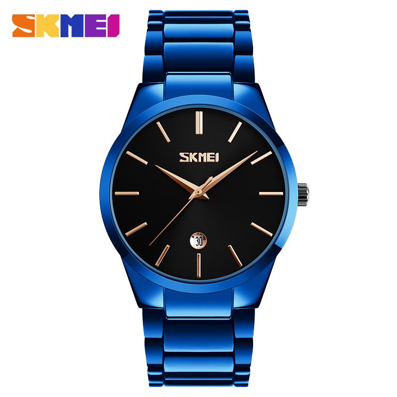 SKMEI New Business Quartz Watch Men Clock Waterproof Watches Top Luxury Man Brand Male Fashion Wristwatch Relogio Masculino 9140