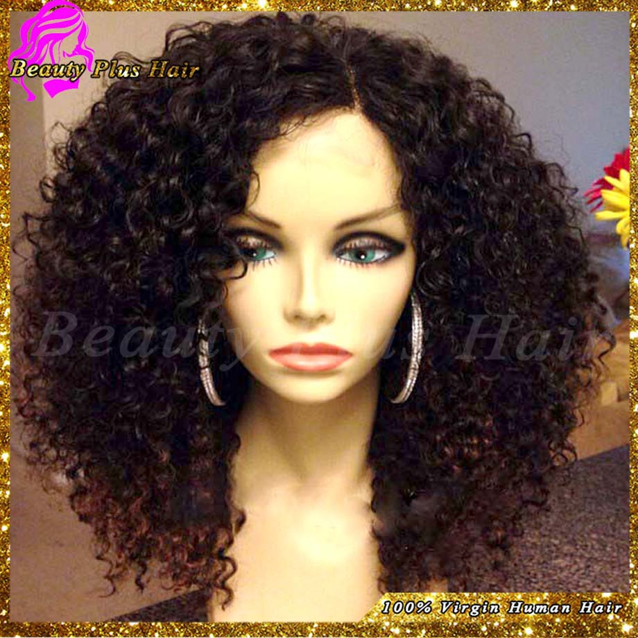 Buy Human Hair Afro Wig For Black Hair 116