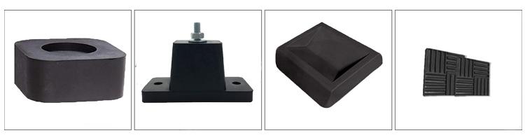 Cheap custom solid rubber block