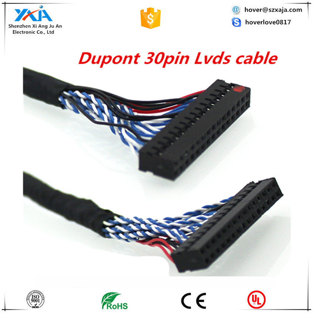 XAJA 20 pin lvds cable to 20 pin dupont connector