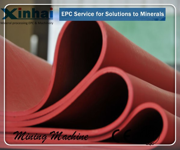 Abrasion Resistance Elasticity Industrial Rubber Products For Liners In Mining Dressing