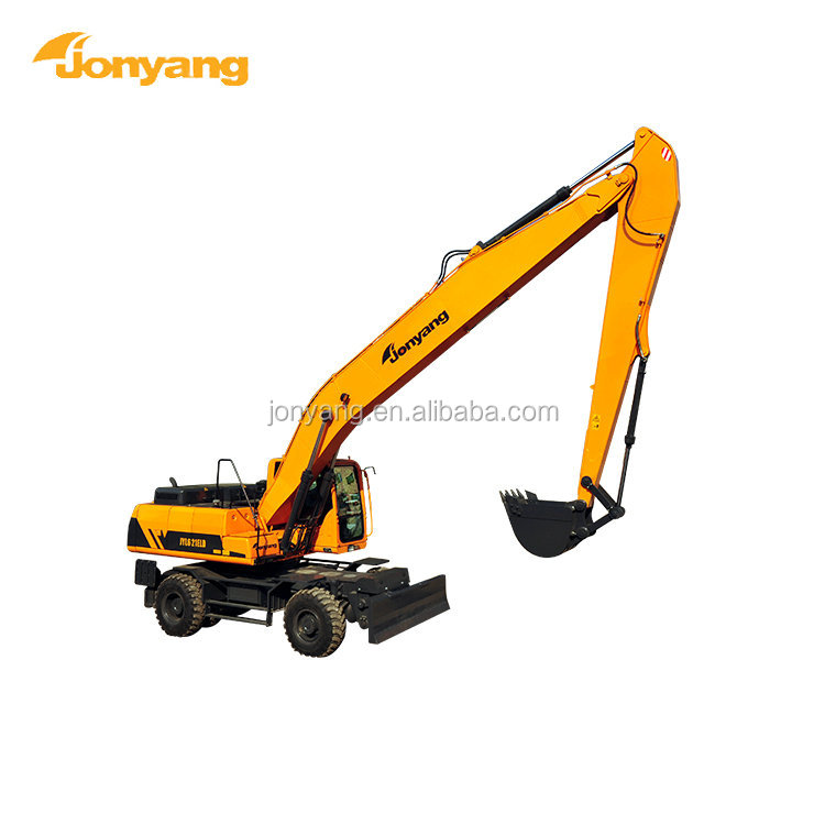 2018 excellent performance hot sale wheeled excavator