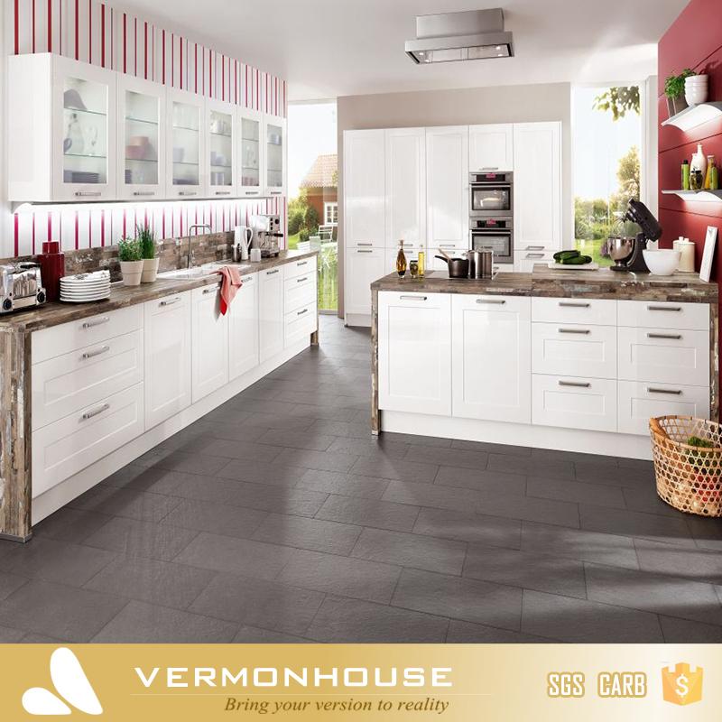 2018 Hangzhou Vermont Modern Design Sunmica Designs For Professional Kitchen Furniture