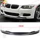 For E90 E92 E93 M3 2008-2013 Carbon Fiber Front Lip Spoiler AK type