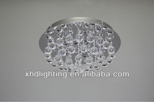 crystal balls round ceiling lamp/energe saving / G4 hotel decorative