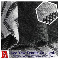 polyester wool jacquard fabric
