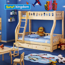 wooden bunk bed parts#SP-C201