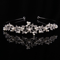 MSYO brand 2017 Amazon hot style bridal hair accessories high quality crown jewelry