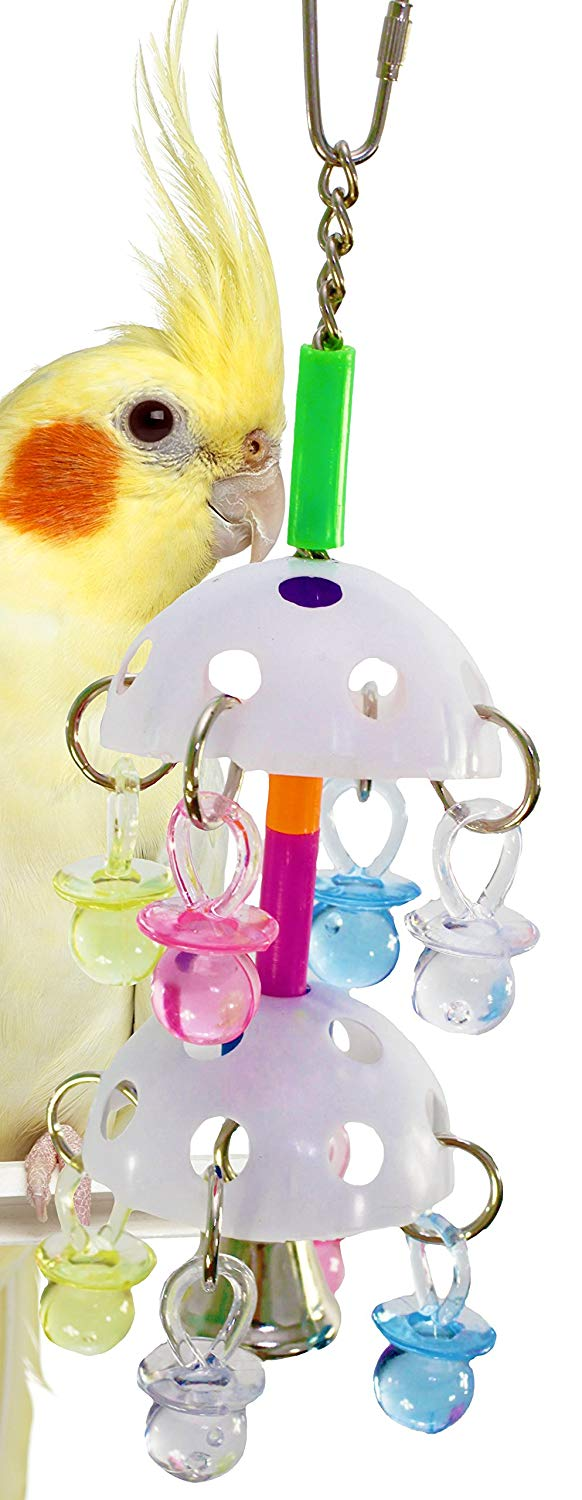 1064 Paci Tower Bird Toy Parrot cage Toys Cages Cockatiel Conure Parakeet Quality Product Hand Made in The USA