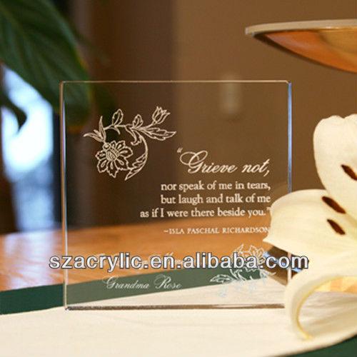 High Grade Glass Wedding Invitations Buy Invitations Acrylic