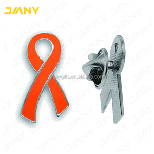 456c5e0dbaf Orange Ribbon Pin