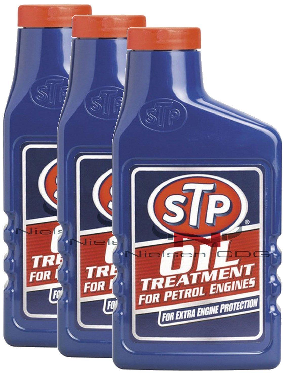 STP LA-QOQ6-5Y77 Oil Treatment For Petrol Engines -3 - 3X450Ml = 1350Ml