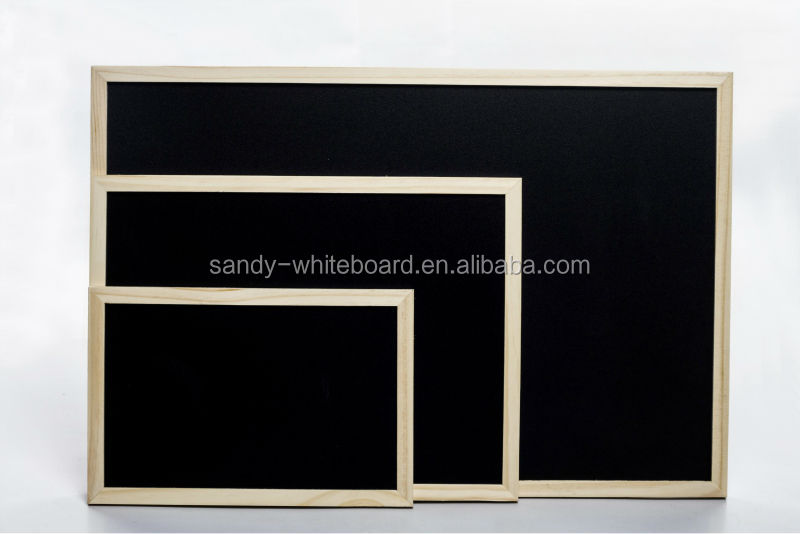 hanging magetic greenboard/magnetic chalkboard/black board with frame