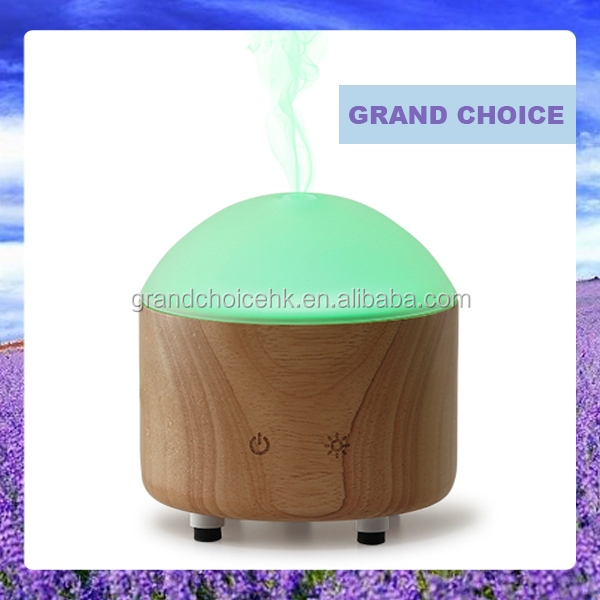 Auto Power Off Ultrasonic Purifier Aroma Oil Diffuser Air Humidifier LED 7 Color Warm Light