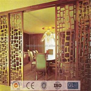 Customized Accepted Indian Restaurant Decoration Cheap Room Divider