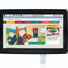 Waveshare 10.1 inch Capacitive Touch Screen LCD 1024x600 for Raspberry Pi Jetson Nano HDMI Display with Acrylic case for UK