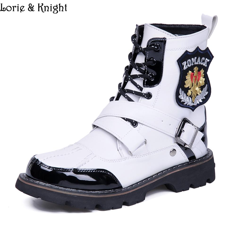 Achetez en Gros blanc bottes pour hommes en Ligne à des