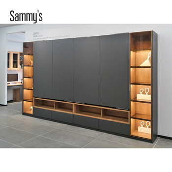 the best attitude 36acd cc6d0 2019 new model modern TV cabinet design with led light and electric sliding  door, View tv cabinet design, SAMMYS Product Details from Foshan Sammy's ...