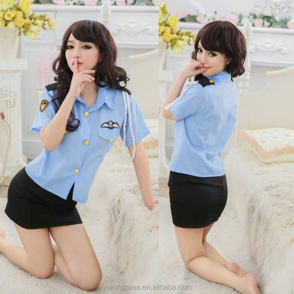 Halloween Police Uniforms Sexy Policewoman Cosplay Clothes Suit fun unifrom
