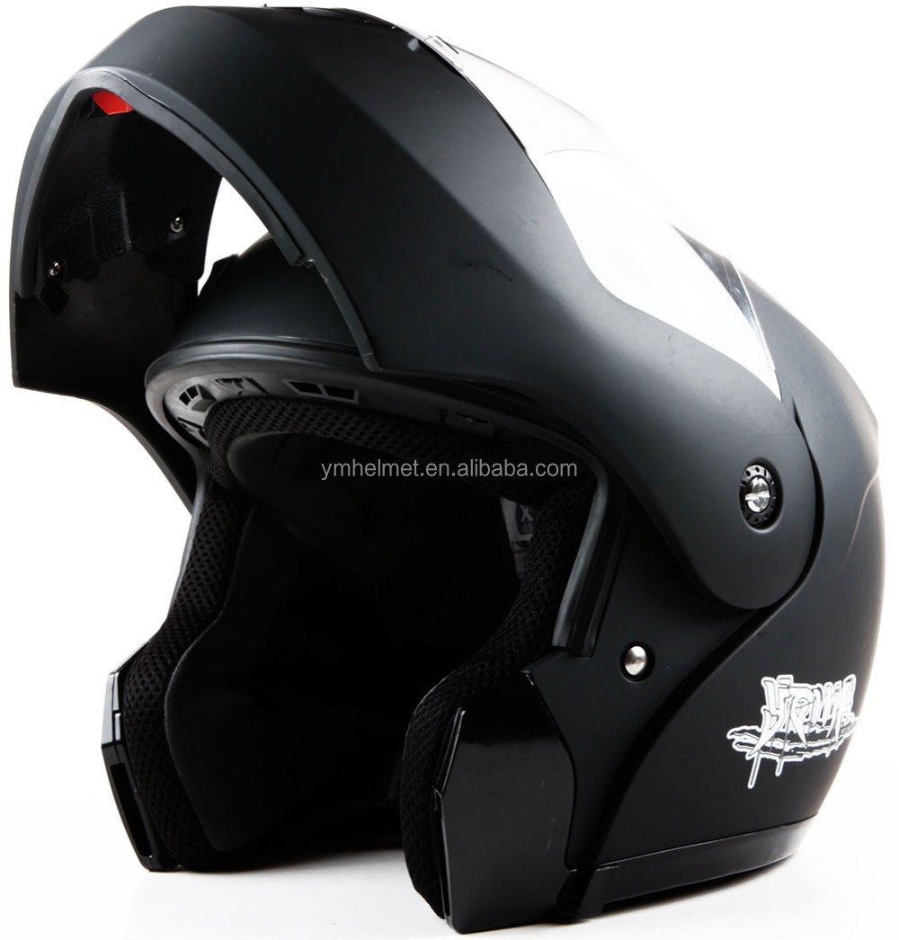 Ym Dot Dual Visor Flip Up Helmet With Custom Motorcycle Helmet - Custom motorcycle helmet decals