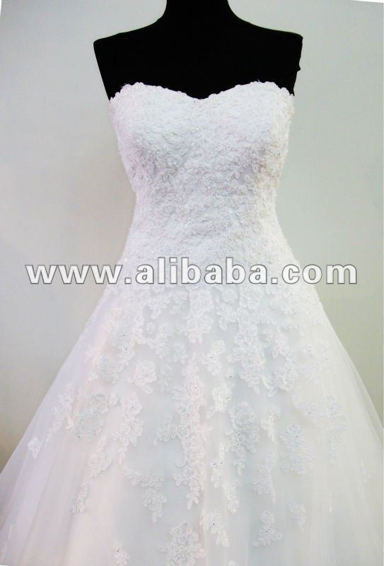 RHINESTONE LUXURY WEDDING DRESS