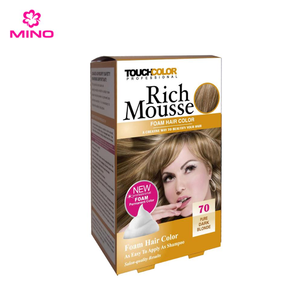 2017 Most Popular Rich Foam Golden Blonde Halal Hair Color Buy