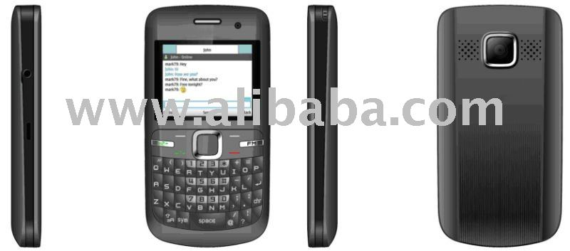 Q3 - QWERTY Phone, Supports MP3/MP4/FM/Bluetooth/3D Game/Video Recorder/JAVA/SMS/MMS/GPRS/WAP/Video Chat