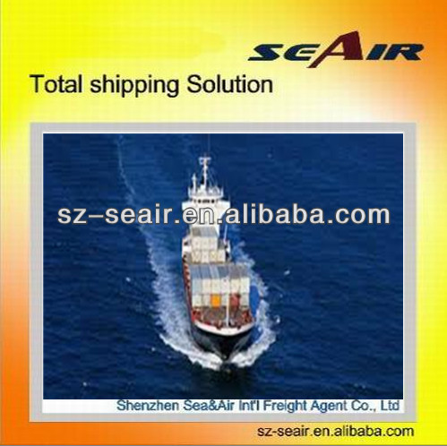 ocean shipping to jacksonville from Shenzhen or Guangzhou to Europe