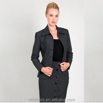 Hot sale ladies office uniform designs for women buy for Office uniform design catalogue
